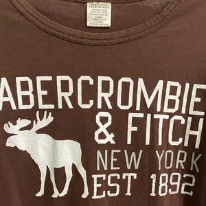 VINTAGE ABERCROMBIE&FITCH GRAPHIC TEE